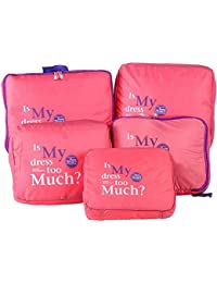 MSE 5PCS/Set Traveling Bag Packing Cubes Hot Sale Luggage Clothes Storage Bag Organizer Cases Pouch Suitcase Mala
