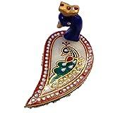 Handicraft Handmade Home Decor Peacock Chopda - (11.43 Cm * 6.35 Cm * 8.89 Cm)