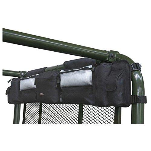 Classic Accessories 18-014-010401-00 Quadgear Black UTV RZR Roll Cage Organizer Fits Polaris Ranger RZR