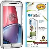 Tidel 2.5D Tempered Glass Screen Guard Protector For Motorola Moto G4 Plus (Gen 4) / 4th Generation