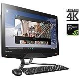 2017 Lenovo IdeaCentre 24 Inch UHD 4K All-In-One Touchscreen Desktop, Intel Core I5-6400 2.7 GHz NVIDIA GeForce GTX 950A 2GB GDDR5, 8GB RAM 1TB + 8GB Hybrid HDD DVD +/- RW HDMI, Windows 10