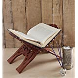 Christmas Gifts Hand Carved Folding Religious Bible Quran Guru Granth Book Stand Holder With Intricate Carvings...