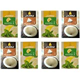 SG Shahi Lemon With Mint & Coconut Hookah Flavour (Pack Of 8) (400 Grms)