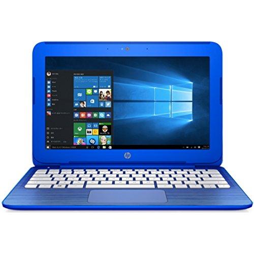 【KINGSOFT Office 2013付】 HP Stream 11-r016TU Windows10 64bit Celeron 2GB 32GB 光学ドライブ非搭載 無線LAN IEEE802.11ac/a/b/g/n Bluetooth USB3.0 HDMI webカメラ microSDカードスロット 11.6型液晶搭載ノートパソコン バッテリー長持ち最大約10.5時間 Microsoft OneDrive100GB(2年間使用可)