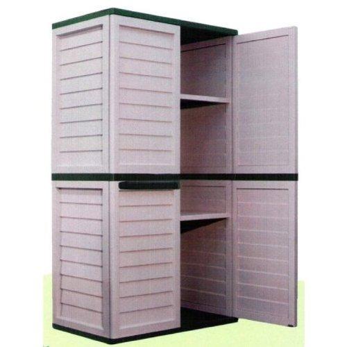 outdoor storage cabinet waterproof Bins & Storage (UK): 6ft Waterproof & Lockable Garden Storage  outdoor storage cabinet waterproof