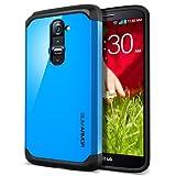 SPIGEN LG G2 Case Slim [Slim Armor] [Dodger Blue] Dual Layer Protective Case For T-Mobile International ONLY -...