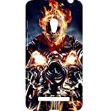 Casotec Ghost Rider Motorcycle Design Hard Back Case Cover For Asus Zenfone 5 A500CG