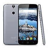 "Vernee Thor 4G Lte - Smartphone Libre Android 6.0 (5.0"" HD, Octa Core, Dual Sim, 3Gb Ram 16Gb Rom, 13Mp Camara, Huellas Dactilares, Carga Rapida) (Gris)"