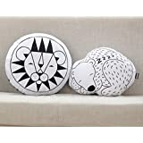 Baoblae Cute Lions Design Pattern Baby Kids Sleep Play Soft Cotton Stuff Cushion Pillow Toy Gift