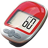 Sandistore LCD Run Step Pedometer Walking Distance Calorie Counter Run Walking Distance Fitness Trackers Red