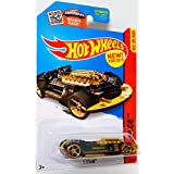 Hot Wheels X-Steam HW Race Black & Gold 1:64 Collectible Toy Car Best For Track