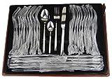 72 tlg. Edelstahl 18/0 Besteck '4000' Besteckset mit Koffer Tafelbesteck -