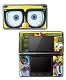 Spongebob Squarepants Sponge Bob Patrick Glasses Cartoon Video Game Vinyl Decal Skin Sticker Cover for Original Nintendo 3DS System