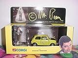 Corgi Mr. Bean Mini Cooper & Mr. Bean Figure