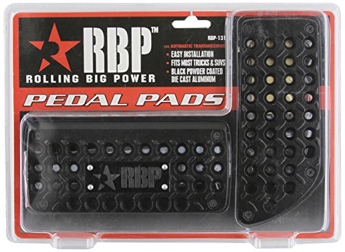 Pilot/Bully RBP131 Black Powder Coated Truck Pedal
