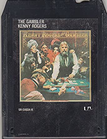 Amazon.com: Kenny Rogers: The Gambler - 8 Track Tape: Clothing