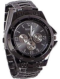 Rosra Analog Black Dial Men's Watch -Rosra Black By Hans Enterprise