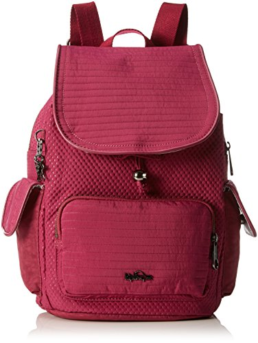 Kipling City Pack S, Sacs Portés Dos Femme, Rose (REF33O Craft Berry), 27 EU
