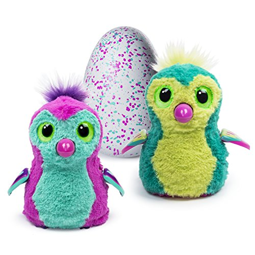Hatchimals - Hatching Egg - Interactive Creature - Penguala - Teal/Pink Egg by Spin Master