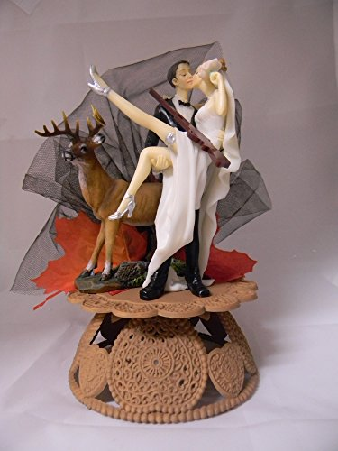 redneck deer fishing hunting wedding cake toppers wedding cake toppers shopswell 19131