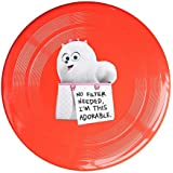 Red, One Size : DETED Fashion The Secret Life Of Doggy Sport Disc - Yellow