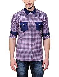 Yepme Men's Checks Cotton Shirt - YPMSHRT0430