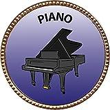 Keepsake Awards Piano Gold Award Pin