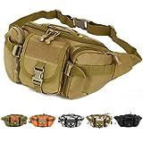 Imported Outdoor Unisex Waist Bag Tactical Military Waist Pack Chest Bag Desert Camo