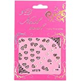 10 Sheet 3D Transfer Nail Art Stickers Tips Lace Flower Wrap Decal Accessorie For DIY Decorations Manicure Tools...