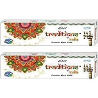 Ullas Tradition Of India Incense Sticks, 50 Gm Box, Set Of 2