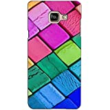 PrintVisa Designer Back Case Cover For Samsung Galaxy On Max (Clay Cube Check Pattern)