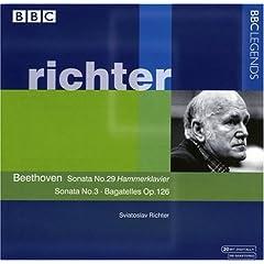 リヒテル独奏 ベートーヴェン ピアノソナタ29番他の商品写真