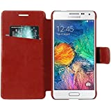 Armor Samsung Galaxy Alpha G850F Case Cover : Armor Slim Leather Wallet Book Case Flip Cover For Samsung Galaxy...