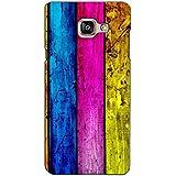 PrintVisa Designer Back Case Cover For Samsung Galaxy On Max (Multicoloured Stripped Pattern) - B074DL3LRG