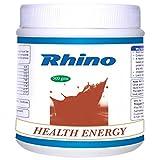 Rhino HEALTH ENERGY-Herbal Nutritional Drink Having Soy Protein (500 Grams)