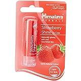 Himalaya Herbals Shine Lip Care, Strawberry, 4.5g