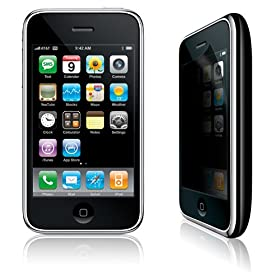 Case-Mate Privacy Screen Protector for iPhone 3G and 3GS - Clear
