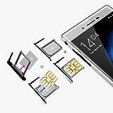 """CUBOT X11 3G Smartphone Cellulare 5.5 """"IPS Android 4.4 WCDMA MTK6592 Octa core 1.4GHz 1280 * 720P 2GB + 16GB 8MP 16MP Dual Camera con OTG G-sensore L-sensore e P-sensor bianco"""
