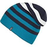 O'Neill Mens Elevation Beanie Hat One Size Cyan Blue