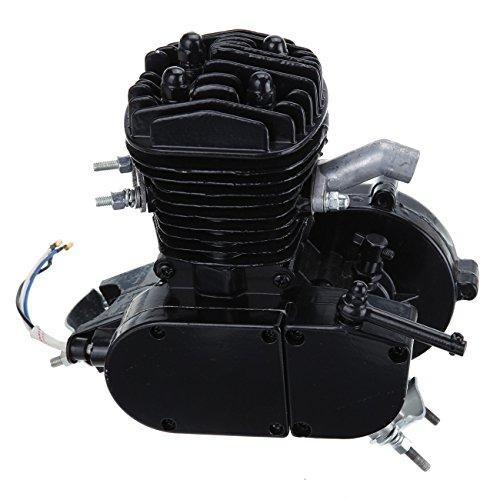 Iglobalbuy Black 50cc 2 Stroke Engine For Motorized Bicycle Bike Engine only