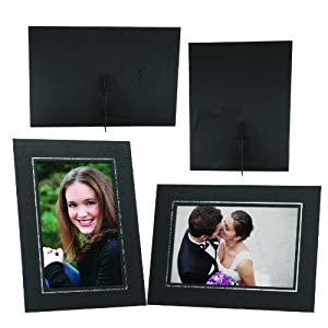 Amazon.com - 4x6 Black Elite Easel Cardboard Frame - 100