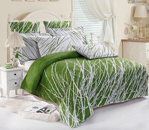 green bedding ensembles