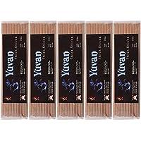 KTR Bamboo Yuvan Thick Incense Sticks (23 Cm, Brown, Pack Of 5)