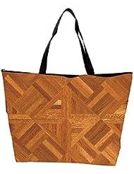 Snoogg Abstract Floor Matt Design Designer Waterproof Bag Made Of High Strength Nylon