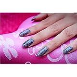 Nail Art Sticker, Purple Feature