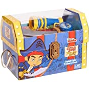 Jake And The Neverland Pirates Accessory Trunks With Gold Doubloons And Signature Red Bandana