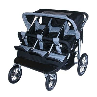 Amazon.com : Safetech Triple Jogging Stroller Baby Jogger