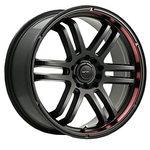 Drifz FX 15×6.5 Black Wheel / Rim 4×100 & 4×4.5 with a 42mm Offset and a 73.00 Hub Bore. Partnumber 207B-5650342