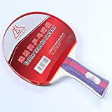 Landson Table Tennis Set- Wood Paddle + High Viscosity Rubber + Pen-hold Grip