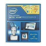 Galleria fotografica Intel Xeon 1150 E3-1231v3 Processore da 3.4 Ghz, Argento